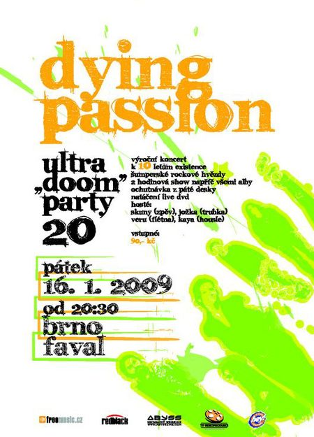 DYING PASSION - ULTRA DOOM PARTY vol. 20