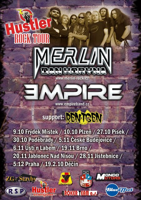 EMPIRE, MERLIN, RENTGEN
