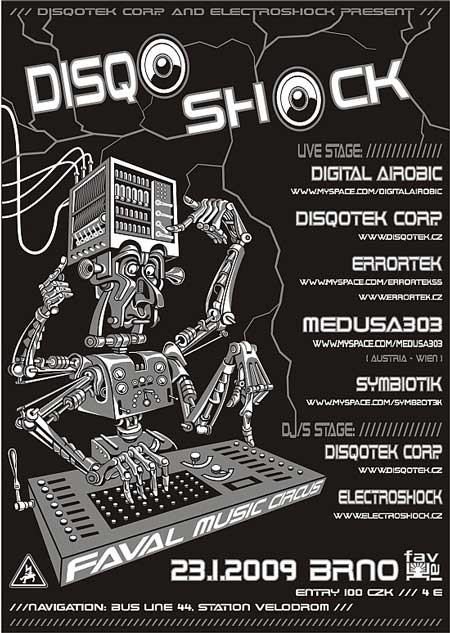 DISQOSHOCK – Liveset party