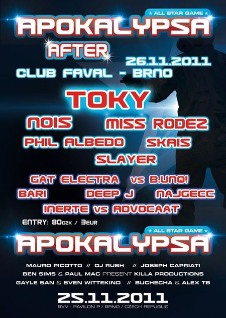 APOKALYPSA AFTERPARTY