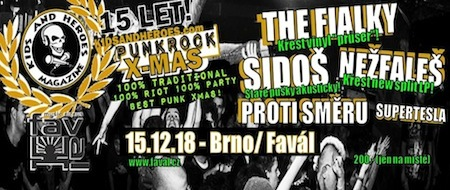 Kids and Heroes PUNKROCK X-MAS 2018!