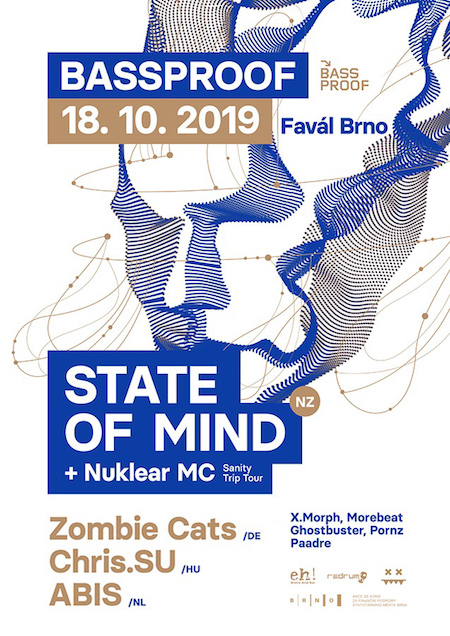 BASSPROOF w/ State of Mind & Nuklear MC, Zombie Cats, Chris.SU, Abis