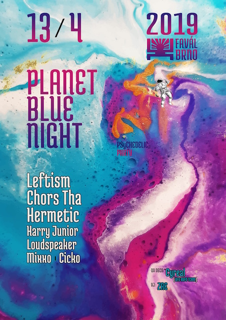 PLANET BLUE NIGHT