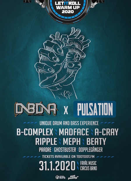 Pulsation & DNB DNA: B-COMPLEX l Let it Roll Winter Warm-UP